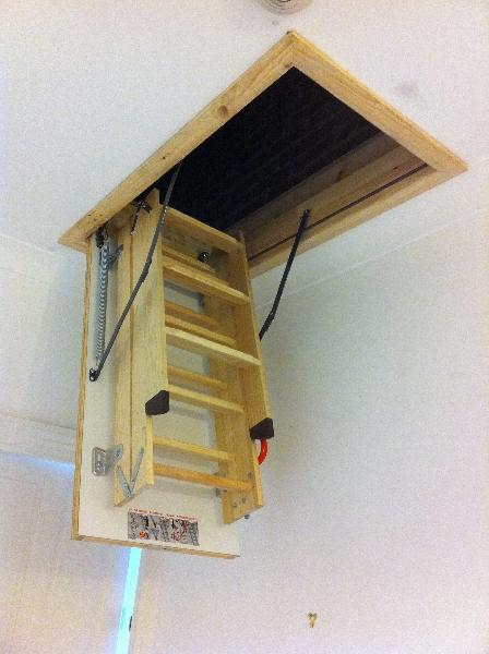 how to make a loft hatch
