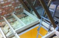 Loft Flooring / Boarding in progress