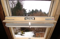 Fitting loft window