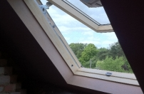 Loft window fitted