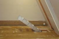 Completed loft ladder