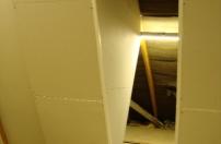 Loft roof insulation