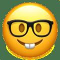 nerd face