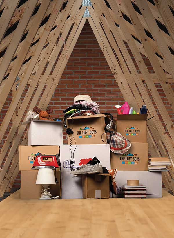 Loft Storage Solution by The Loft Boys