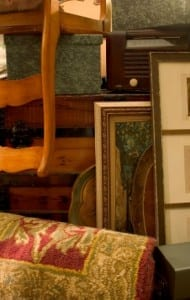 stored items in loft