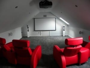 Loft conversion cinema