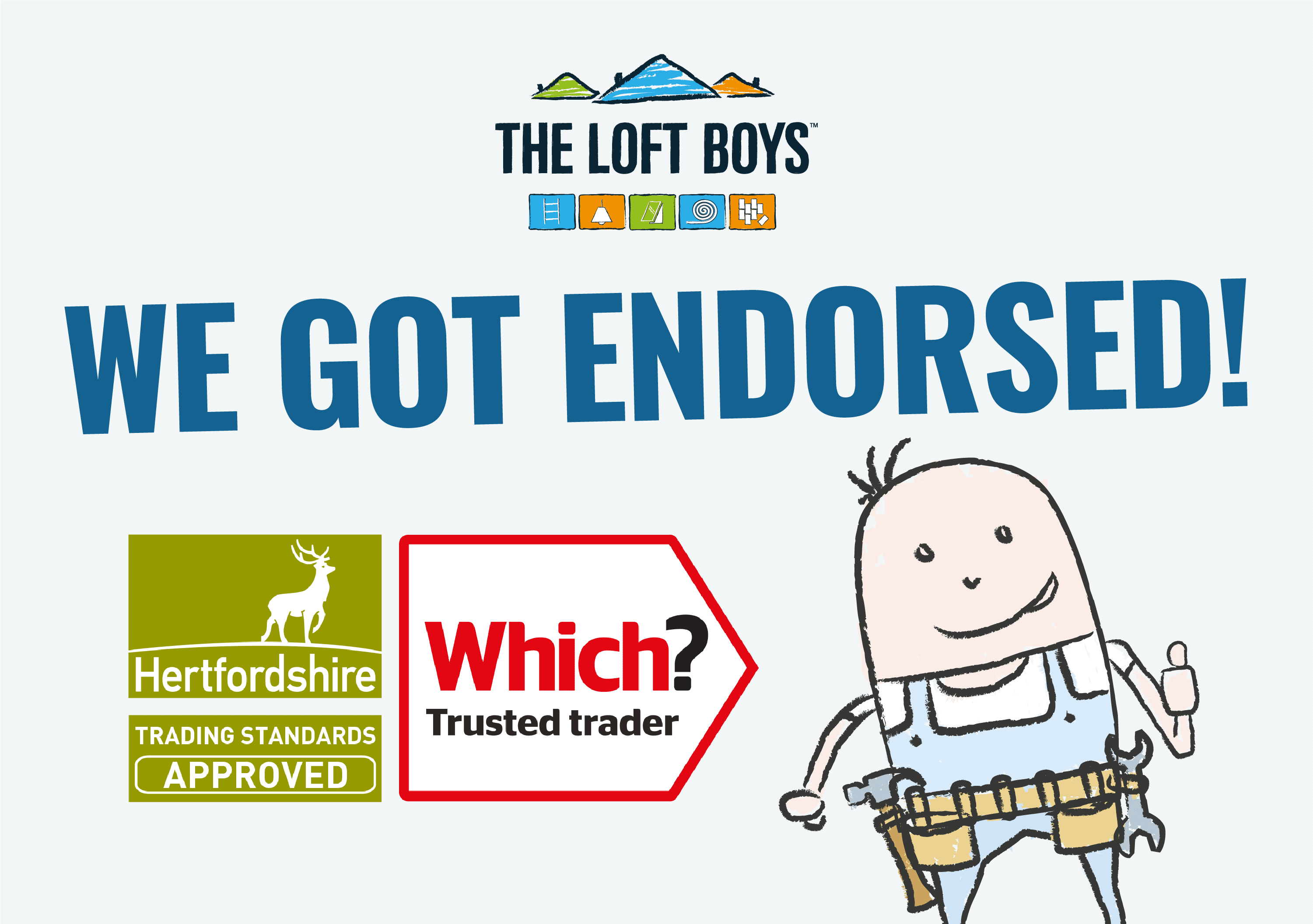 We got endorsed by Which?