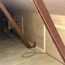 plywood roof finish