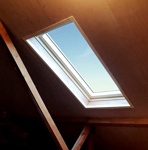 loft roof window