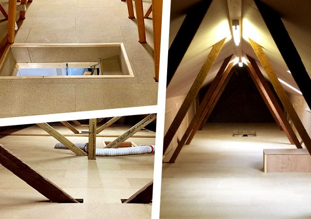 Different types of loft boarding