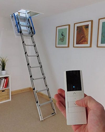 loftomattic electric loft ladder