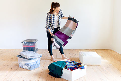 storing seasonal items