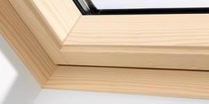 pine wood finish
