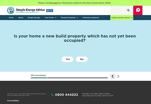The Simple Energy Advice website