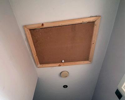 photo of hatch area